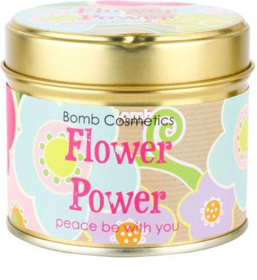 Bomb Cosmetics Flower Power vela perfumado 1