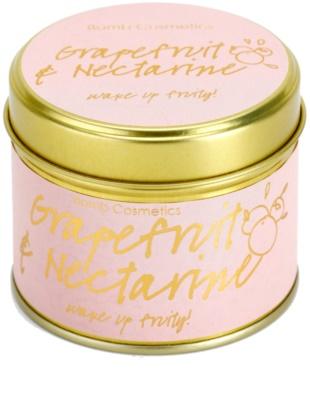 Bomb Cosmetics Grapefruit & Nectarine vela perfumada 2