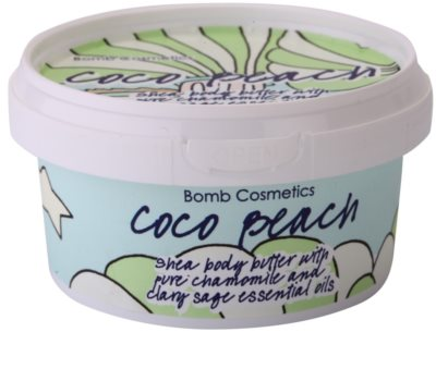Bomb Cosmetics Coco Beach manteiga corporal