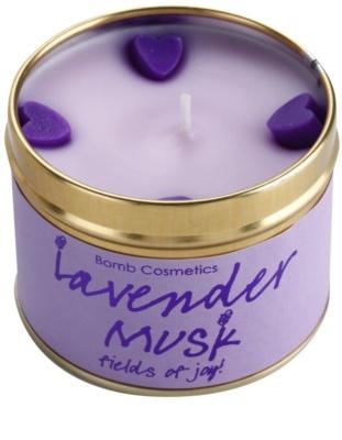 Bomb Cosmetics Lavender Musk Duftkerze 2