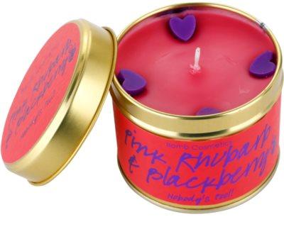 Bomb Cosmetics Pink Phubarb & Blackberry vela perfumada