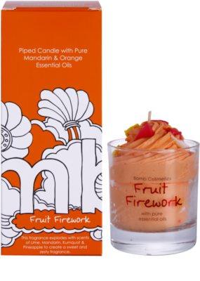 Bomb Cosmetics Piped Candle Fruit Firework vela perfumado