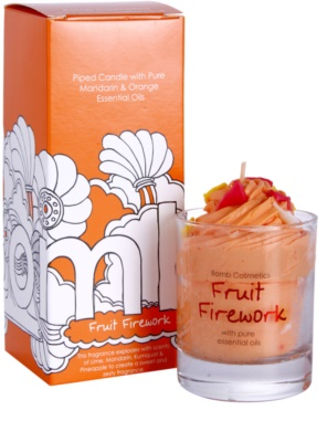Bomb Cosmetics Piped Candle Fruit Firework vela perfumada 1