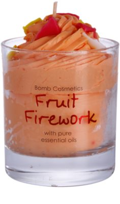 Bomb Cosmetics Piped Candle Fruit Firework vonná svíčka 2