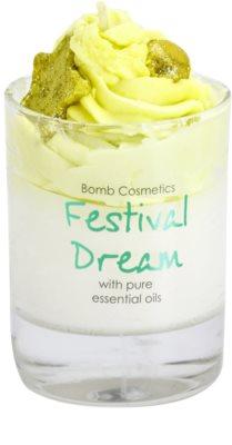 Bomb Cosmetics Piped Candle Festival Dream vela perfumada     Festival Dream 1
