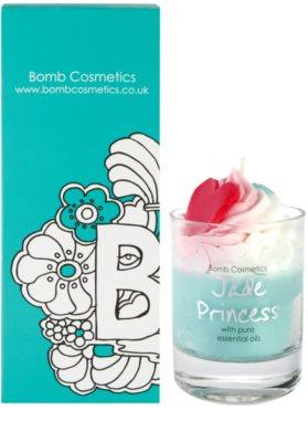 Bomb Cosmetics Piped Candle Jade Princess Duftkerze