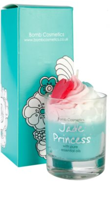 Bomb Cosmetics Piped Candle Jade Princess vonná sviečka 1