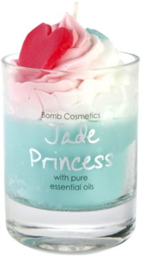 Bomb Cosmetics Piped Candle Jade Princess vonná sviečka 2