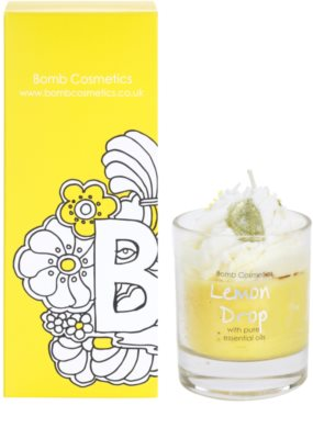 Bomb Cosmetics Piped Candle Lemon Drop Duftkerze