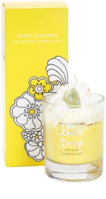 Bomb Cosmetics Piped Candle Lemon Drop vonná svíčka 1