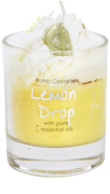 Bomb Cosmetics Piped Candle Lemon Drop vonná svíčka 2