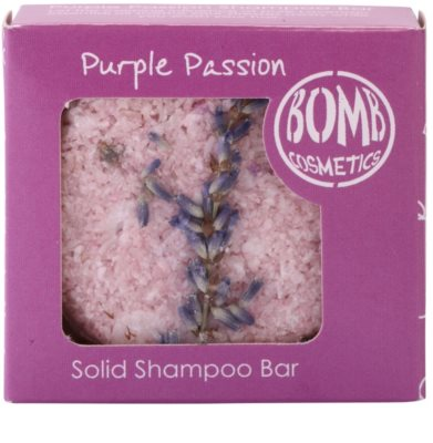 Bomb Cosmetics Purple Passion tuhý šampon 1