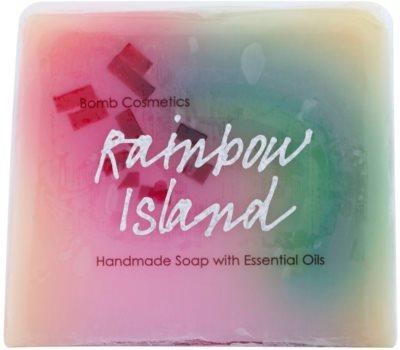 Bomb Cosmetics Rainbow Island glycerínové mydlo s esenciálnymi olejmi