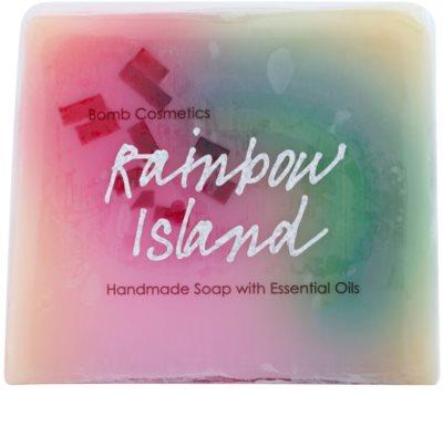 Bomb Cosmetics Rainbow Island jabón de glicerina con aceites esenciales