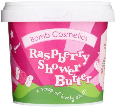 Bomb Cosmetics Raspberry Blower Duschbutter für trockene Haut
