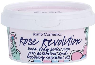 Bomb Cosmetics Rose Revolution telové maslo