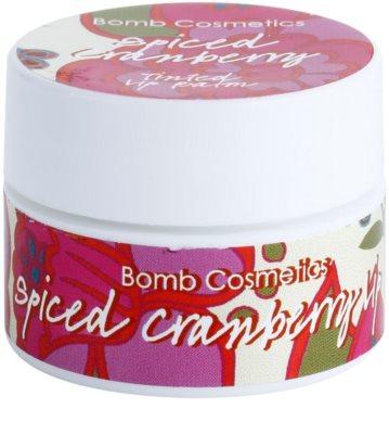 Bomb Cosmetics Spiced Cranberry bálsamo de lábios com glitter 1