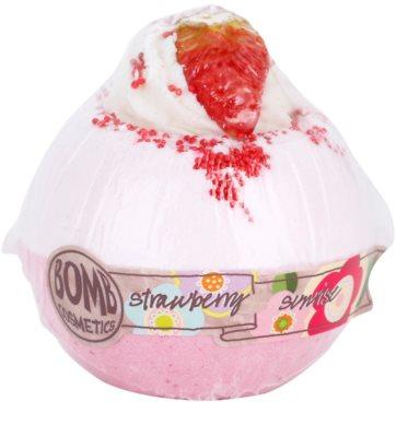 Bomb Cosmetics Strawberry Sunrise koupelový balistik 1