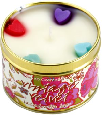Bomb Cosmetics Vintage Velvet vela perfumada 1