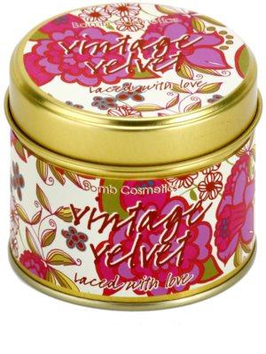 Bomb Cosmetics Vintage Velvet vela perfumada 2