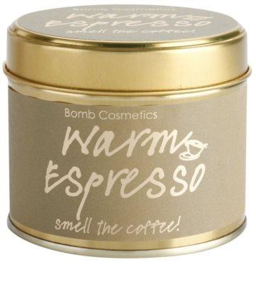 Bomb Cosmetics Warm Espresso Duftkerze 1