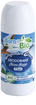 Born to Bio Frozen Ginger deodorant roll-on
