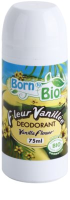 Born to Bio Vanilla Flower deodorant roll-on