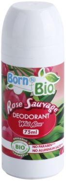 Born to Bio Wild Rose Deodorant roll-on