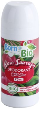 Born to Bio Wild Rose Roll-On Deodorant