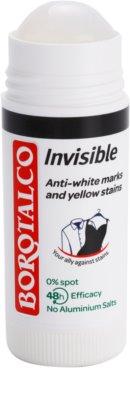 Borotalco Invisible dezodorant w sztyfcie przeciwko białym i żółtym śladom 1