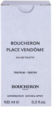 Boucheron Place Vendôme eau de toilette teszter nőknek 3