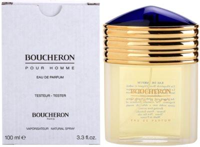 Boucheron Pour Homme eau de parfum teszter férfiaknak 2