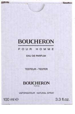 Boucheron Pour Homme eau de parfum teszter férfiaknak 3
