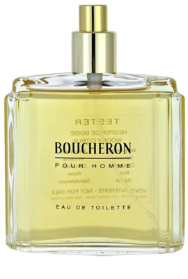 Boucheron Pour Homme toaletní voda tester pro muže