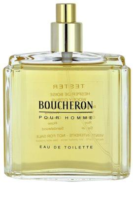 Boucheron Pour Homme туалетна вода тестер для чоловіків