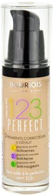 Bourjois 123 Perfect течен фон дьо тен за съвършен външен вид