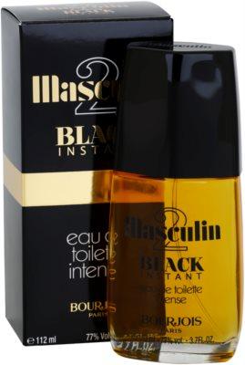 Bourjois Masculin 2 Black Instant Eau de Toilette für Herren 2
