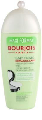 Bourjois Cleansers & Toners leite de limpeza para todos os tipos de pele