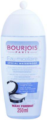 Bourjois Cleansers & Toners почистваща мицеларна вода за водоустойчив фон дьо тен