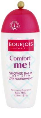 Bourjois Comfort Me! tápláló tusfürdő balzsam