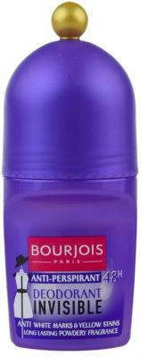 Bourjois Déodorant deodorant roll-on proti bílým a žlutým skvrnám 72h