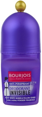 Bourjois Déodorant desodorizante roll-on anti-manchas amarelas e brancas 72h
