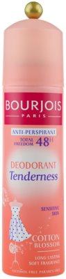 Bourjois Déodorant Antitranspirant-Deoroller für sehr empfindliche Haut 48h