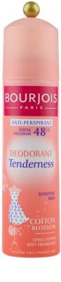 Bourjois Déodorant antitranspirante em roll-on para pele muito sensível 48 h