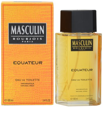 Bourjois Masculin Equateur Eau de Toilette für Herren