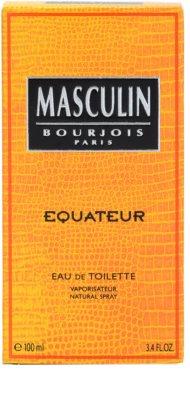 Bourjois Masculin Equateur eau de toilette férfiaknak 4