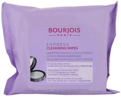 Bourjois Express toalhitas de limpeza