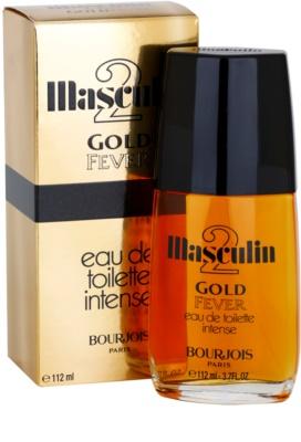 Bourjois Masculin 2 Gold Fever eau de toilette férfiaknak 2
