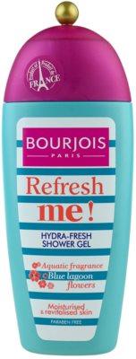 Bourjois Refresh Me! gel de dus revigorant fara parabeni