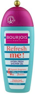 Bourjois Refresh Me! osviežujúci sprchový gél bez parabénov